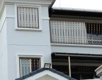 Elegant French House Windows/ Simple Iron Window Grills ...