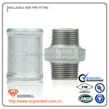 Galvanized Water Malleable Iron Pipe Fittings