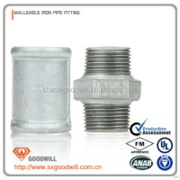 Galvanized Water Malleable Iron Pipe Fittings - Buy ...