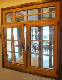 Latest Low-e Wooden Window Design/ Oak Wood Window Design ...