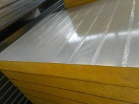 Fireproof Fiberglass Insulation Wall Panels For Warehouse