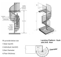 staircase dimensions Gallery
