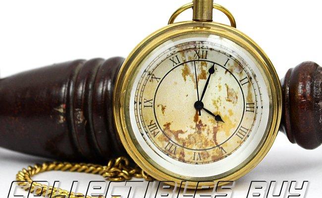 Buy Collectibles Buy Royal Vintage Mini Clock Marine