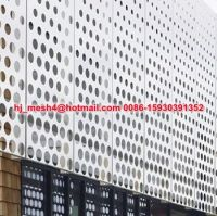 Design Perforation Metal Screen Wall Cladding Panels - Buy ...