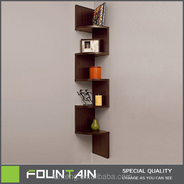 modern corner shelves for living room retro chairs diy melamine veneer shelf decorative wall mounted wood