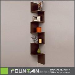 Corner Shelf For Living Room Simple Interior Design Styles Diy Melamine Veneer Decorative Wall Mounted Wood