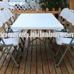 Foldable Table And Chairs Garden Plastic Kids Clearance Wholesale Party Tables Folding Chair
