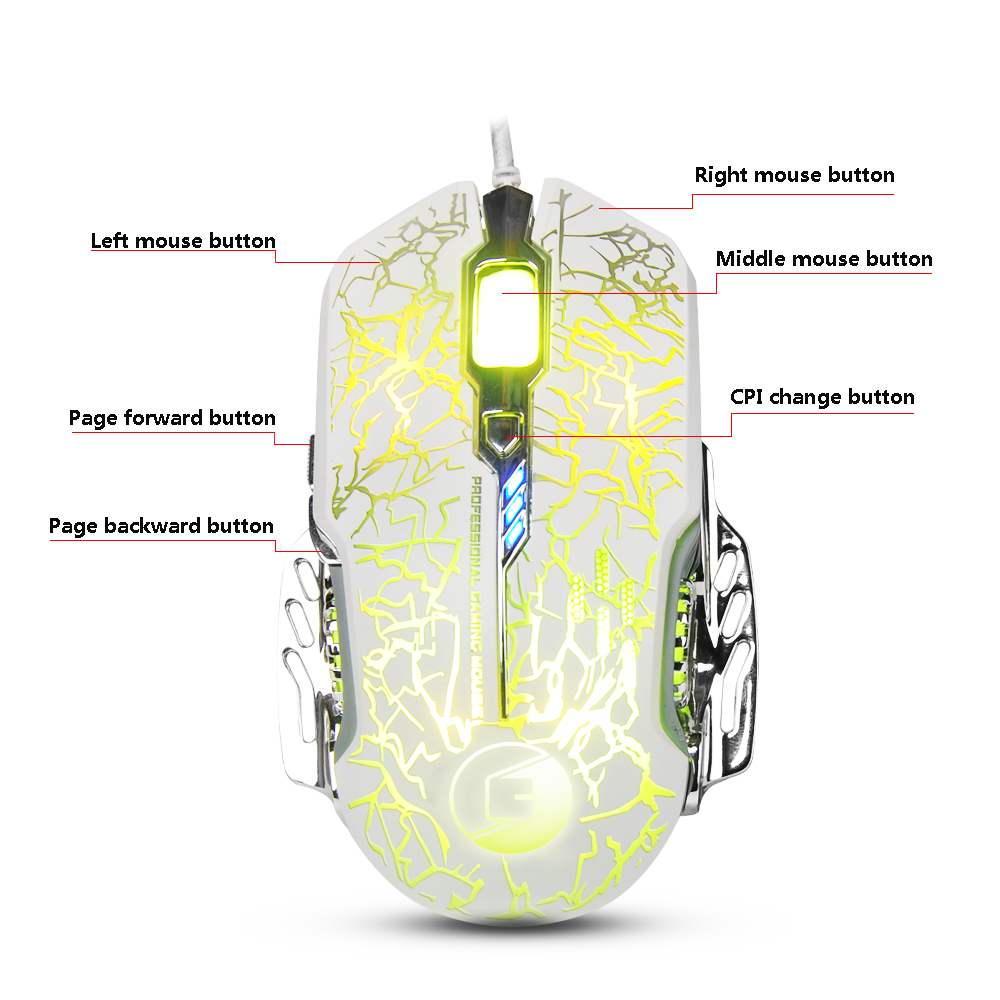 hight resolution of best selling high quality computer wired rgb drivers usb 6d gaming mouse optical mouse