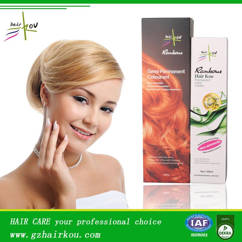 100ml Professional Hair Color Cream/ Hair Dye Italian Hair