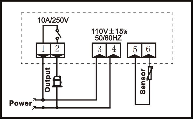 Ringder Rc-114m Digital Oil Cooler Temperature Controller
