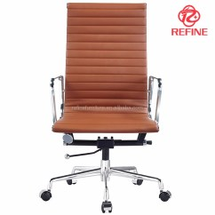 Revolving Chair Hsn Code Chairs On Sale Hs Modern High Back Brown Pu Leather Swivel Executive Office Ea119 Rf S071