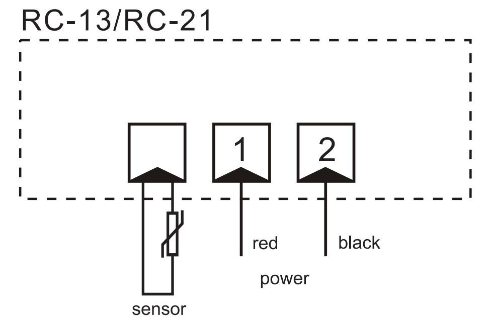 Ringder Rc-21 Lcd Led Acrylic Digital Single Display
