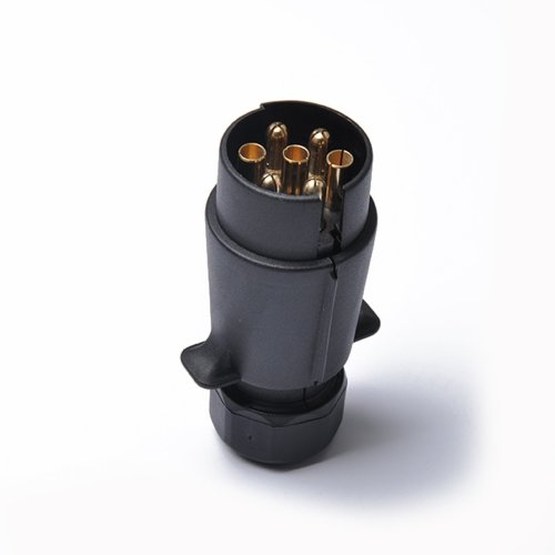small resolution of get quotations professional 12v 7 pin trailer plug round pin trailer wiring connector 7 poles