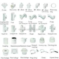 2 1/2 Inch Pvc Waste Water Pipe And Fittings