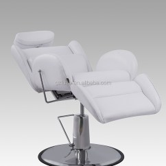 White Multi Purpose Salon Chair Boon High Reviews Luxury Furniture Beauty Comfortable Men S Barber Portable All Hair Reclining Styling