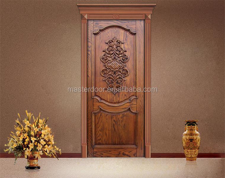 Simple Teak Wood Front Door Designs In Moroccan