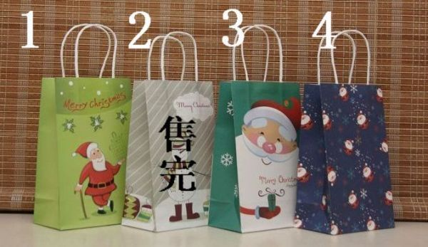 Free shipping New Christmas paper bag 21138 Paper