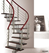 Spiral Stainless Steel Glass Staircase Manufacturers - Buy ...