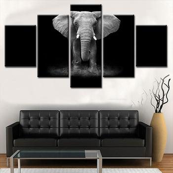 black white canvas prints