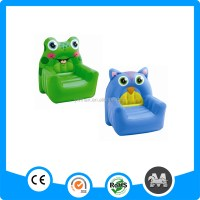 Cartoon Flocking Pvc Air Sofa Inflatable Chair
