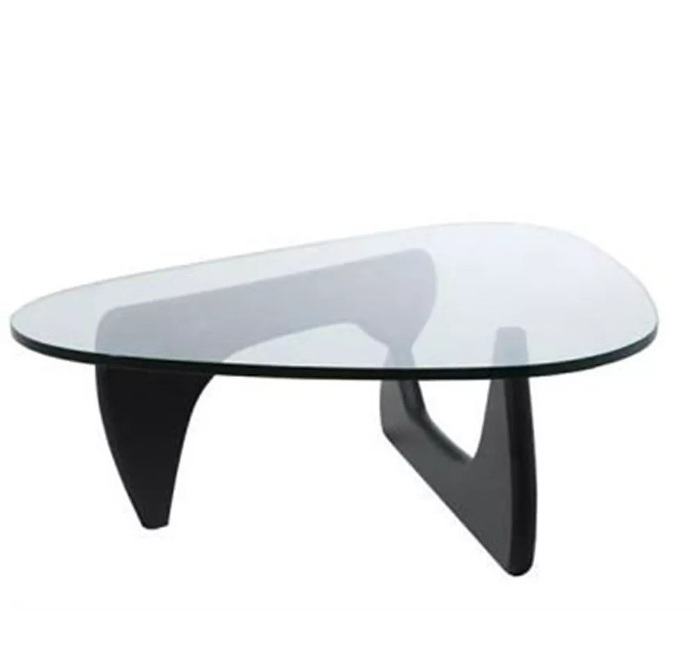 contemporary triangle glass top wood frame coffee table buy wood coffee table triangle coffee table glass coffee table product on alibaba com