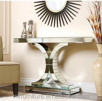 living room console tables mirrored tiffany blue decor empire table sofa buy