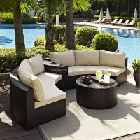 2015 Sector Shape Wicker Patio Set With Sectional Arm ...
