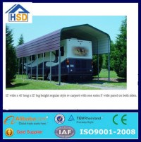 Prefab Cheap Portable Outdoor Car Canopy Garage Rv Shelter ...