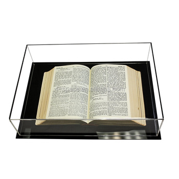 deluxe clear acrylic book