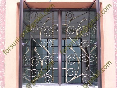 Modern House Wrought Iron Window Grill Design Modern House