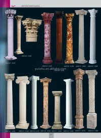 Home Decorative Stone Carved Greek Columns For Interior ...