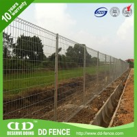 Decorative Roll Top Fence / Wire Fencing Roll Top / Vinyl ...
