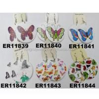 Wholesale Wooden African Butterfly Wooden Earrings - Buy ...