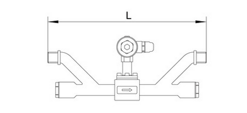 Module Mounted Ultrasonic Inline Flow Meter Calibration