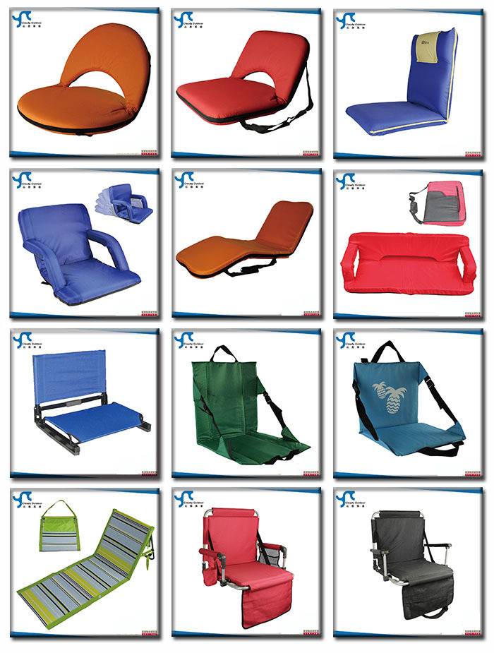 portable folding floor chairs sturdy desk chair wholesale padded reclining ground beach seat
