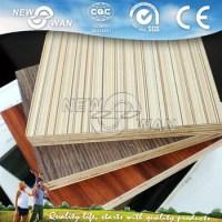 Laminated Plywood Sheet / Melamine Plywood For Furniture ...