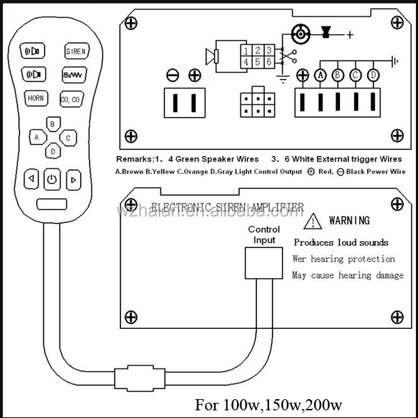 porsche 996 alarm wiring diagram inverter pdf 11 tones 12v police fire ambulance siren 130db for sale cjb 911