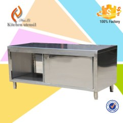 Kitchen Cabinets Cheap Yellow And Red Curtains Subway Sandwich Vendor Stainless Steel Used Buy Cabinet