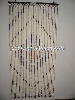 Decorative Painted Door Beads Curtain Printed Window
