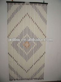 Decorative Painted Door Beads Curtain Printed Window