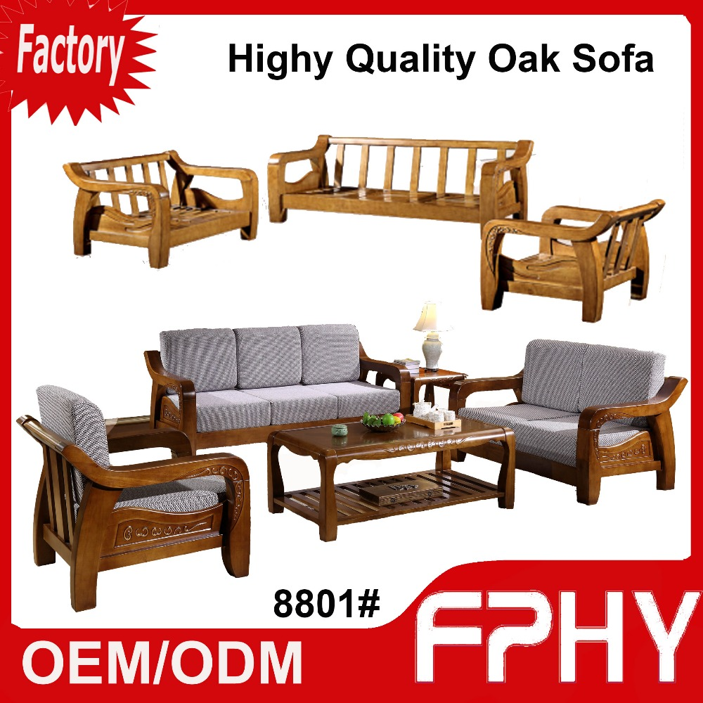 wood frame living room furniture decorating ideas with corner fireplace fphy manufacturer 8801 oak solid fabrics cushion sectional luxury turkish