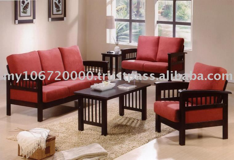 wooden sofa living room images of rooms with area rugs hravey 9905 set furniture