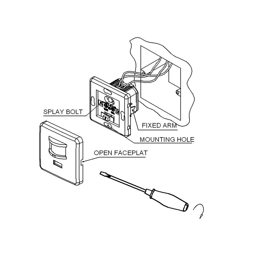 Human Detector Infrared Motion Sensor Light Switch For