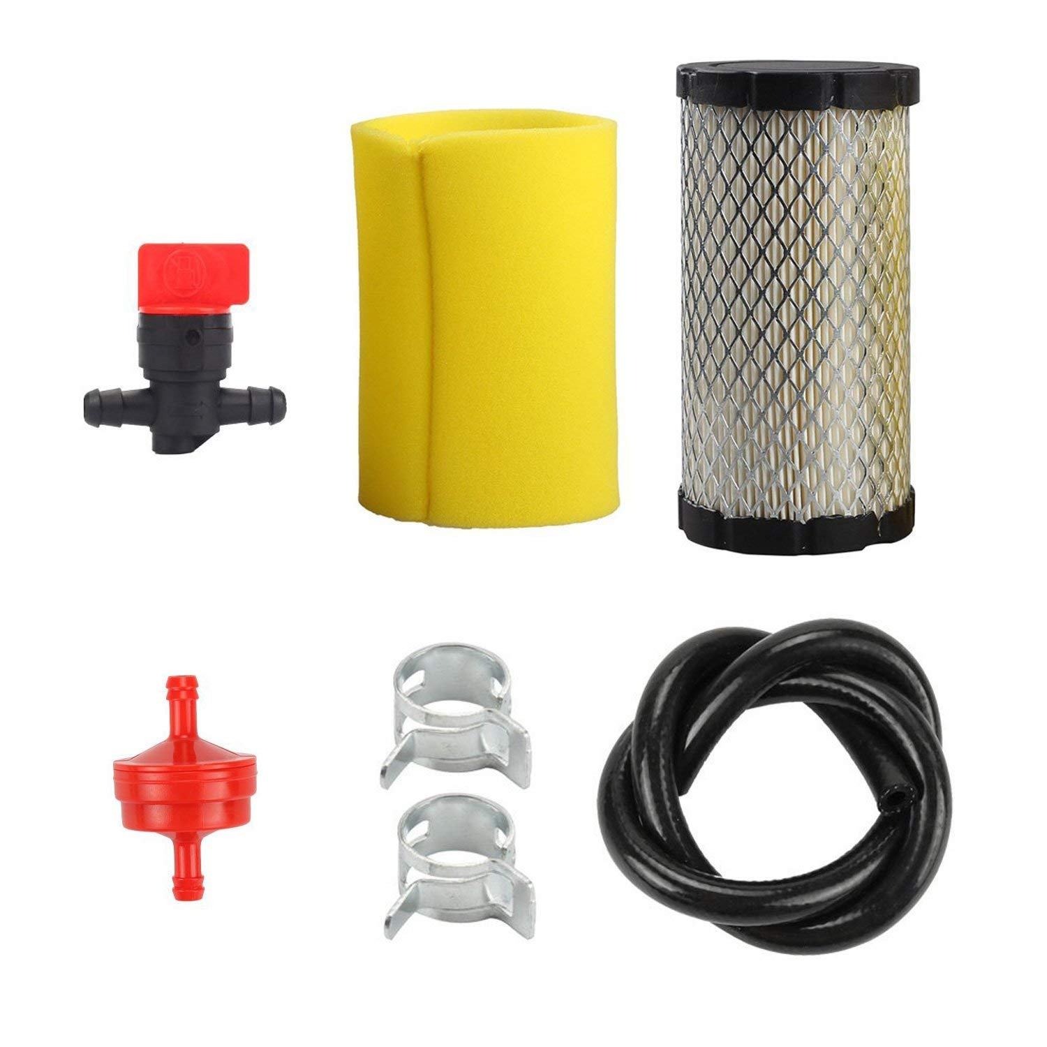 hight resolution of get quotations hifrom air filter pre filter with fuel filter line vlave for briggs stratton 5415k john