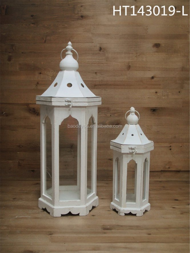 Antique Decorative Stained Gl Porch Lantern