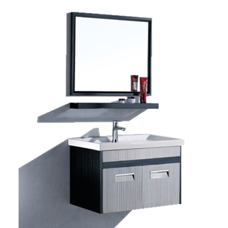 Prefab Homes Building Materials Bathroom Vanity Cabinet Stainless Steel Bath  Vanity For Cheap Single Bathroom Vanity - Buy Cheap Single Bathroom Vanity  ...