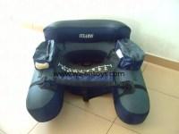 De pche gonflable chaise / belly boat-Bateaux d'aviron-ID ...