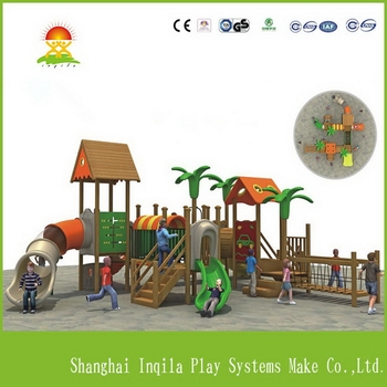 Excellent Quality Best Selling Wooden Outdoor Playground