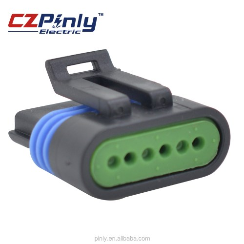 small resolution of 6 pin pole way female delphi gm tps flat accelerator pedal automobile connector 12066317 12162261