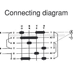 3 Phase Rotary Switch Wiring Diagram 2002 Chevy Radio Ammeter Switch,3 4 Wire Current Transformer Switch,cam (as34) - Buy ...